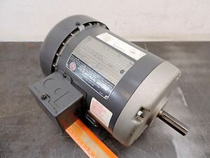 Emerson U s Electrical A1p1b Motor 3450 Rpm 1 Hp 230 460 Volt 3ph