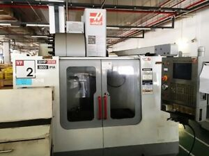 Haas Vf 2b 4 axis Cnc Vertical Machining Center With 4th Axis Drive mfg 12 04