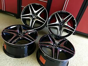 Mercedes 18 Inch S63 Black Edt New Rims Fitment For S550 S400 S450 S65 S600 Amg