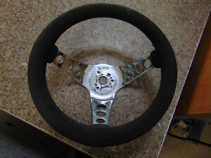 Superior Performance Products The 500 Steering Wheel Black Foam Rubber 10 1 2