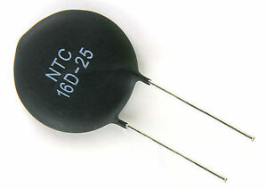 New 50pcs Ntc 16d 25 Circuit Protection Power Thermistor 16 Ohm 6 Amp 25mm Disk