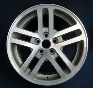 Chevy Cavalier 02 05 16 10 Spoke Machined Gray Alloy Aluminum Wheel 1