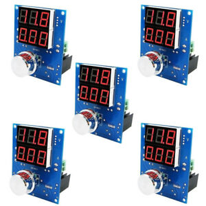 5x Digital Voltage Regulator Buck Step Down Power Supply Module Dc 5 36v 1 3 32v