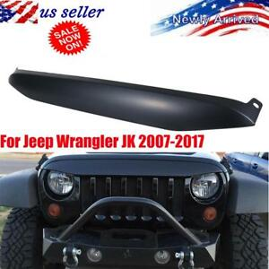 Undercover Nighthawk Light Brow Blk Angry Front Grille Look For Jeep Wrangler Jk