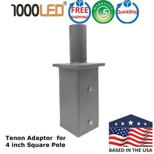 1000led Tenon Adapter 2 38 Od Internal Fits 4 Od Pole Top And Square Poles