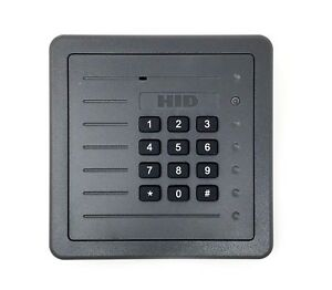 Hid Prox Pro Wall Switch Keypad Reader 5355ags00