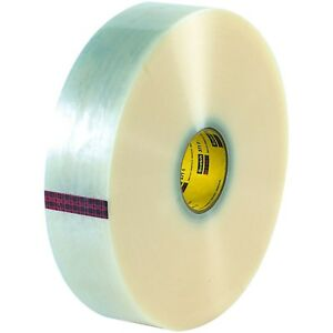 Retailsource T910371x2 3m 371 Carton Sealing Tape 2 X 1500 Yd Clear pack