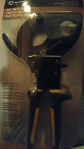 Southwire Ratcheting Cable Cutters Ccpr400 Brand New