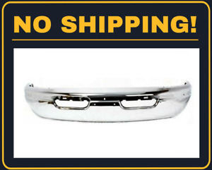 New Front Bumper Face Bar For Dodge Ram 1500 2500 3500 1998 2003