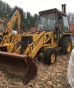 Jcb 1550b Extra Dig Backhoe Non Running Contact For Parts Availability 4x4