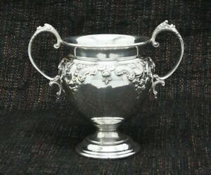 Sterling Silver Open Sugar Bowl Grand Baroque By Wallace