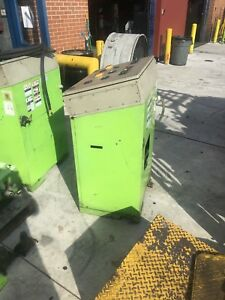 2011 Ari Hetra Surface Mounted Scissor Semi Truck Lift Column Post Hoist 50k