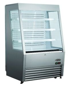 Kool it Kom 36ss 36 Refrigerated Open Air Grab And Go Display Case Merchandiser