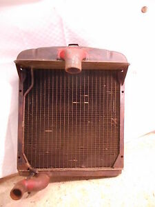 Contintental Iy69 Stationary Engine Radiator Original Ihc Baler Combine
