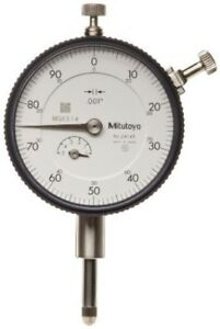 Mitutoyo 2414s Agd 2 Continuous Reading Dial Indicator 0 To 0 500 New