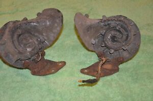 1939 1941 40 1945 1946 Gmc Chevrolet Pickup Truck Horns And Mounting Brackets