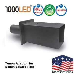 1000led Tenon Adapter 2 38 Od Internal Fits 5 Od Square Poles Top