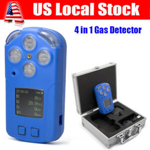 4 in 1 Multi gas Detector Tester O2 Ex H2s Co Analyzer Harm Gas Density Monitor