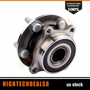 Front New Complete Wheel Hub And Bearing 5 Bolts Fits Prius Two Hatchback 13 14