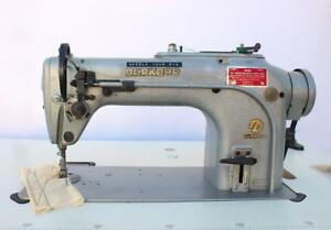 Durkopp 211 Straight Lockstitch Reverse Industrial Sewing Machine germany 110v