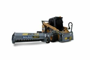 Skid Steer 60 Offset Flail Mower Ships Free To Tx Surrounding States