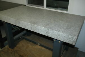 Vibraplane Granite Surface Plate 59 X 30 X 4 Kinetic Systems
