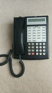 At t lucent avaya Partner 18d Series 1 Black Telephone Used Working Pull