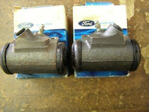 Nos Oem Ford 1965 1970 Mustang Falcon 6 Cyl Wheel Cylinders 1966 1967 1968 1969