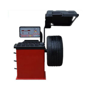 110v Tire Balancer With Hood Rim Diameter 10 24 Wheel Balancing Machine