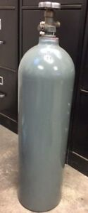 15 Lb Aluminum Co2 Cylinder Tank Reconditioned Fresh Hydro Test Cga320