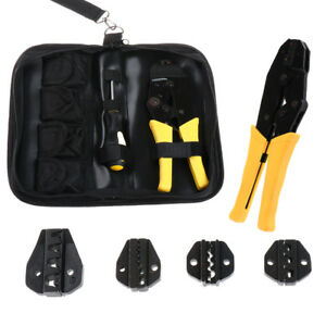 1 Set Electrician Screwdriver Kit Crimping Plier Repair Tool Terminals Ratchet