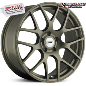 Tsw Nurburgring Matte Bronze 20 X9 Custom Wheels Rims Set Of 4 Free Us Ship