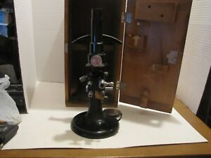 Vintage Bausch Lomb Microscope refractometer No 9143 In Box