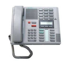New Nortel Norstar M7310 Digital Office Phone Gray Grey W manual And User Card