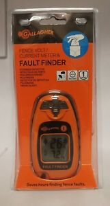 Gallagher Fault Finder Fence Volt Current Meter Brand New free Shipping