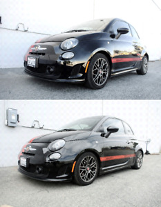 Megan Racing Lowering Sport Springs For 07 18 Fiat 500 Coupe Convertible exc E