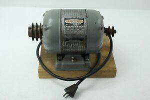 Vintage Craftsman Ballbearing 1 2 Hp Motor 1156962 1750 Rpm 60 Cycle 6 7 Amps