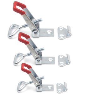 3 Sizes New Quick Metal Hold Holding Capacity Latch Hand Tool Toggle Clamp Hot