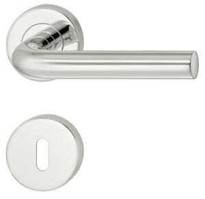 Häfele Door Handle Stainless Steel Rosette Set Ldh 2172 Door Fittings 3 Surfaces