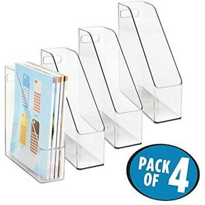 Mdesign Office Supplies Desk Organizer File Folders Magazines Notebooks Pack