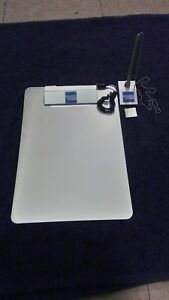 New 9 America Express Silver Clipboards With Pens 9 X 13 8 Pens holders