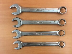 4pc Snap On Metric Combination Wrench Set Made In Usa