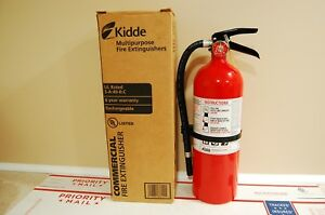 New Kidde 466112 5lb Abc Fire Extinguisher Pro 5tcm Freshly Charged