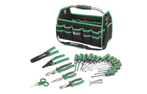 22 piece Commercial Electric Electrician Tool Set