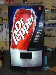 Vendo 407 Drink Machine Single Price 693