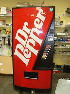 Vendo 475 Single Price Dr Pepper Logo 686