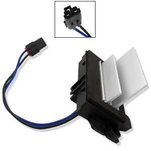 New Hvac Blower Motor Resistor Front For 2003 2005 2006 Gmc Envoy Xl 4 2l 5 3l