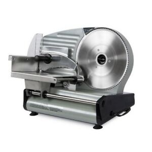 Commercial Meat Slicer Electric 8 7 Blade 180w Deli Slice Veggie Cutter Kitchen