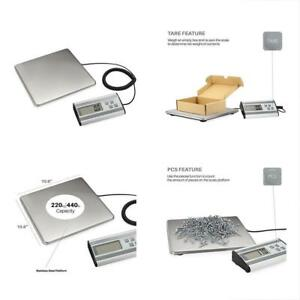 Postal Scales Digital Heavy Duty Shipping And With Durable Stainless Steel Large