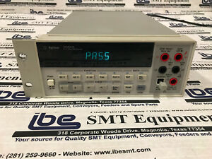 Agilent Hp 34401a Digital Multimeter 6 1 2 Digit With Warranty